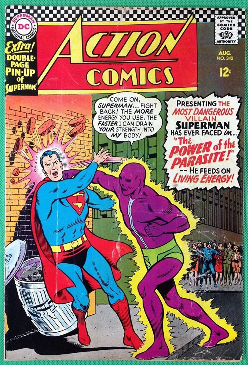 アメコミの歴史3 スーパーマン初登場