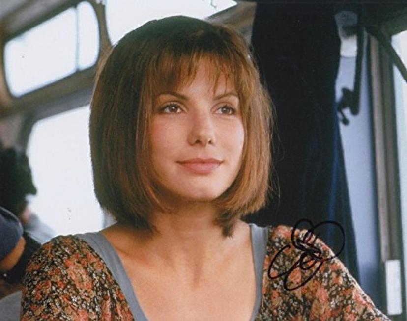 Sandra Bullock (Speed) signed 8x10 photo[サンドラブロック][サンドラ・ブロック]