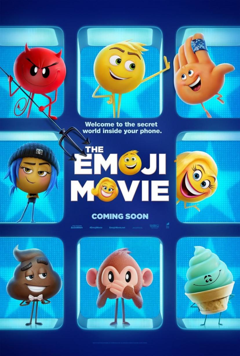 The Emoji Movie Poster 18 x 28 Inches