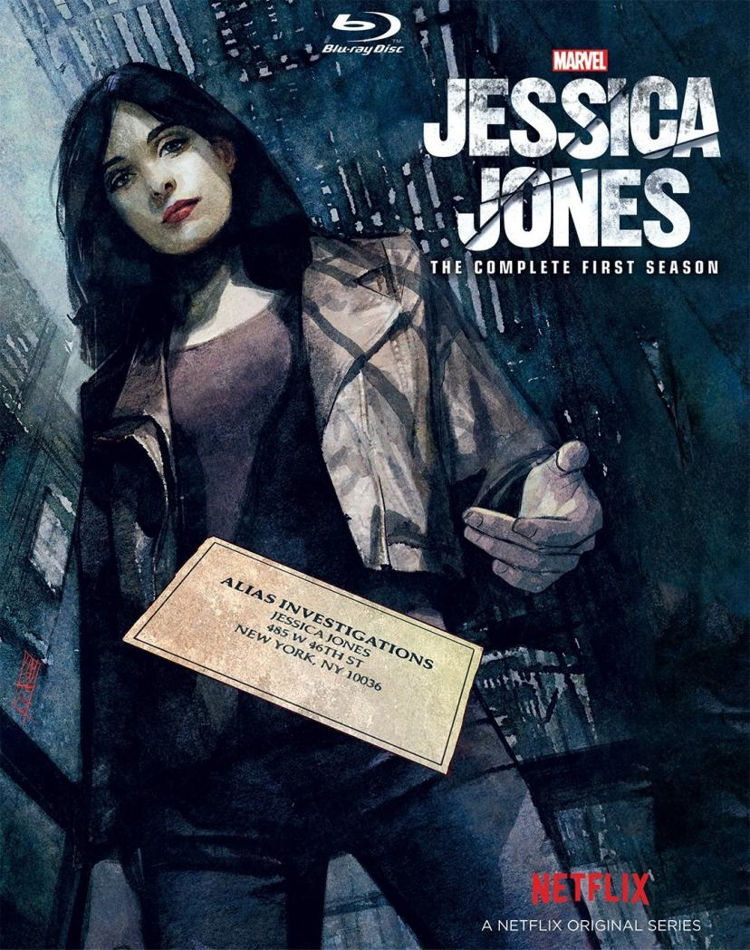 JESSICA JONES: THE COMPLETE FIRST SEASON HOME VIDEO RELEASE[ジェシカジョーンズ]