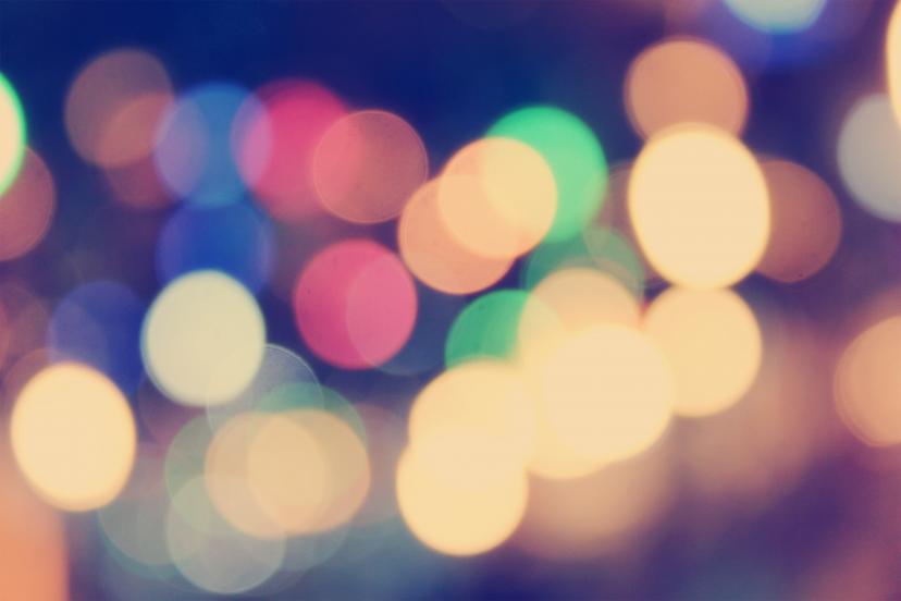 玉ボケ ライト キラキラ フリー画像