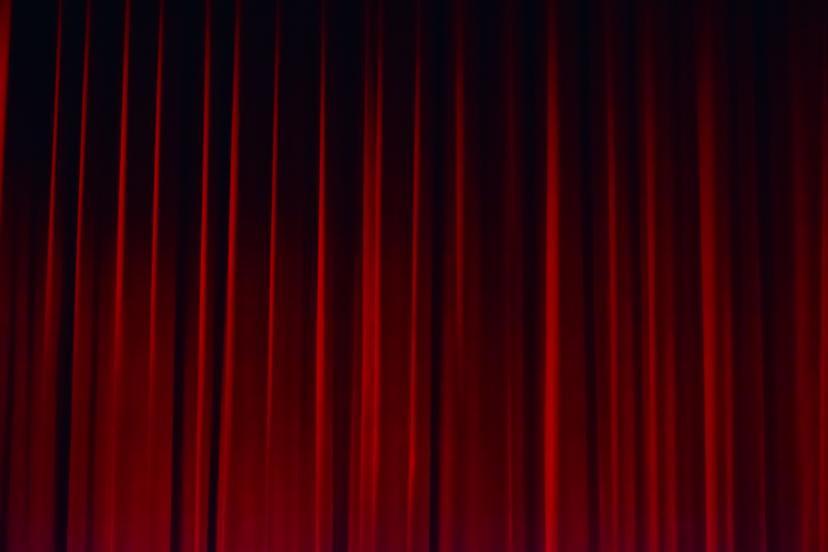 映画館 カーテン フリー画像