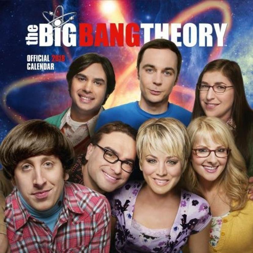 The Big Bang Theory Calendar 2018 Official Merchandiseビッグバン・セオリー ギークなボクらの恋愛法則