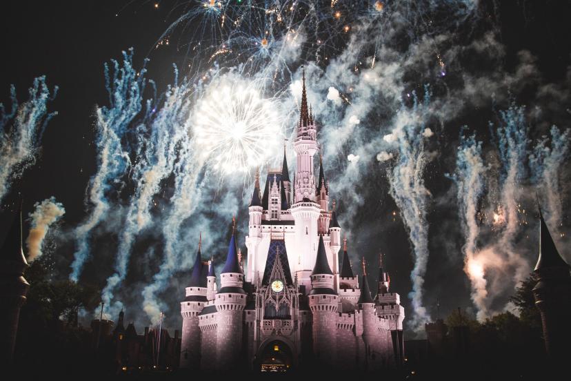 ディズニー お城 フリー画像