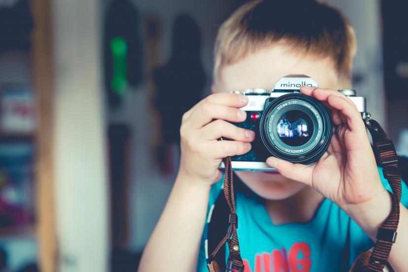 子供 カメラ フリー画像