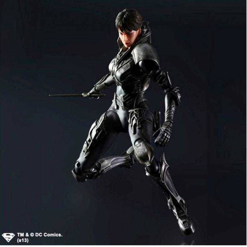 Square Enix Play Arts KAI Faora-Ul Man of Steel Action Figure[ファオラ]