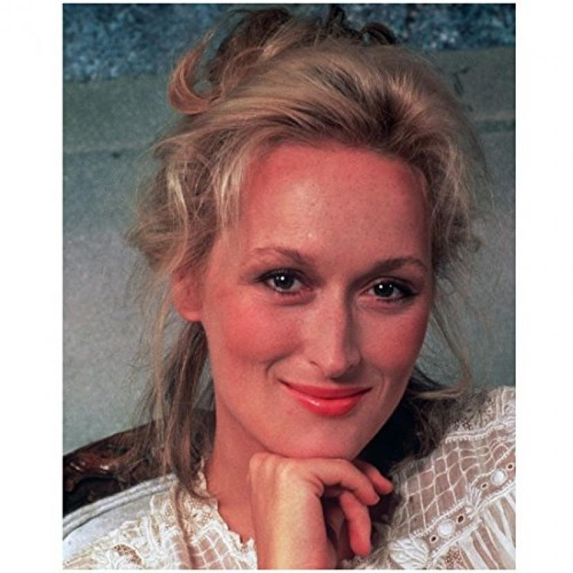 Meryl Streep 8 x 10 Photo Lovely w/Hand Under Chin kn[メリル・ストリープ]