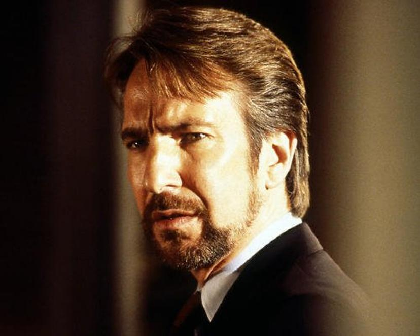 Alan Rickman 8x10 Promotional Photograph classic Die Hard pose[アランリックマン][アラン・リックマン]