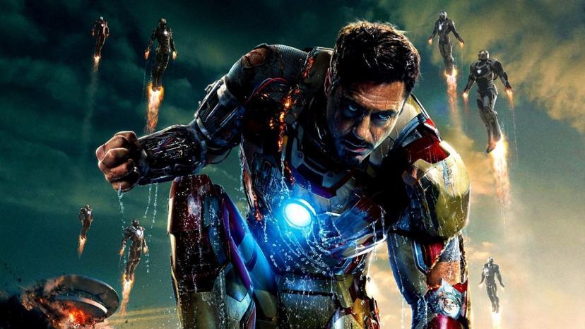 Iron Man 3 Robert Downey Jr。限定ムービープリントポスター写真8 x 10 # 6[ロバート・ダウニー][アイアンマン]