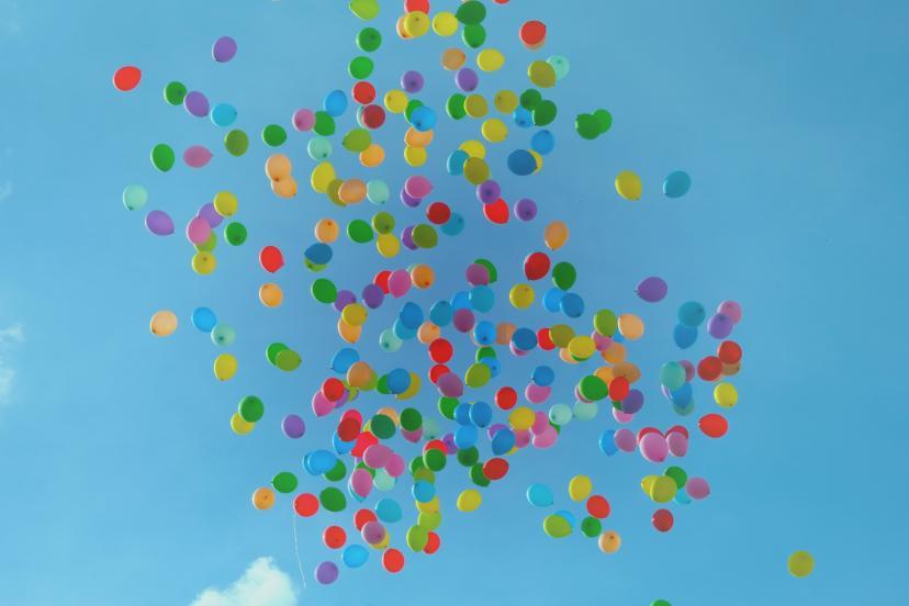 風船 フリー画像