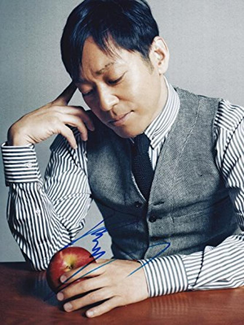 直筆サイン入り写真 MOZU 香川照之