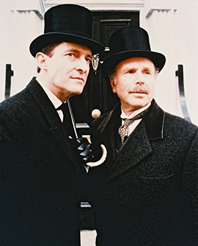 ジェレミー・ブレット、エドワード・ハードウィック『シャーロック・ホームズの冒険』