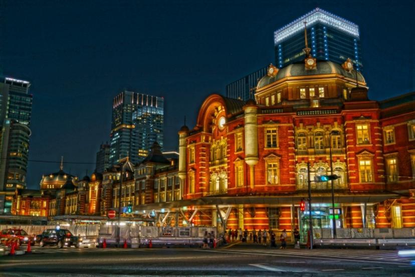 フリー画像、東京駅