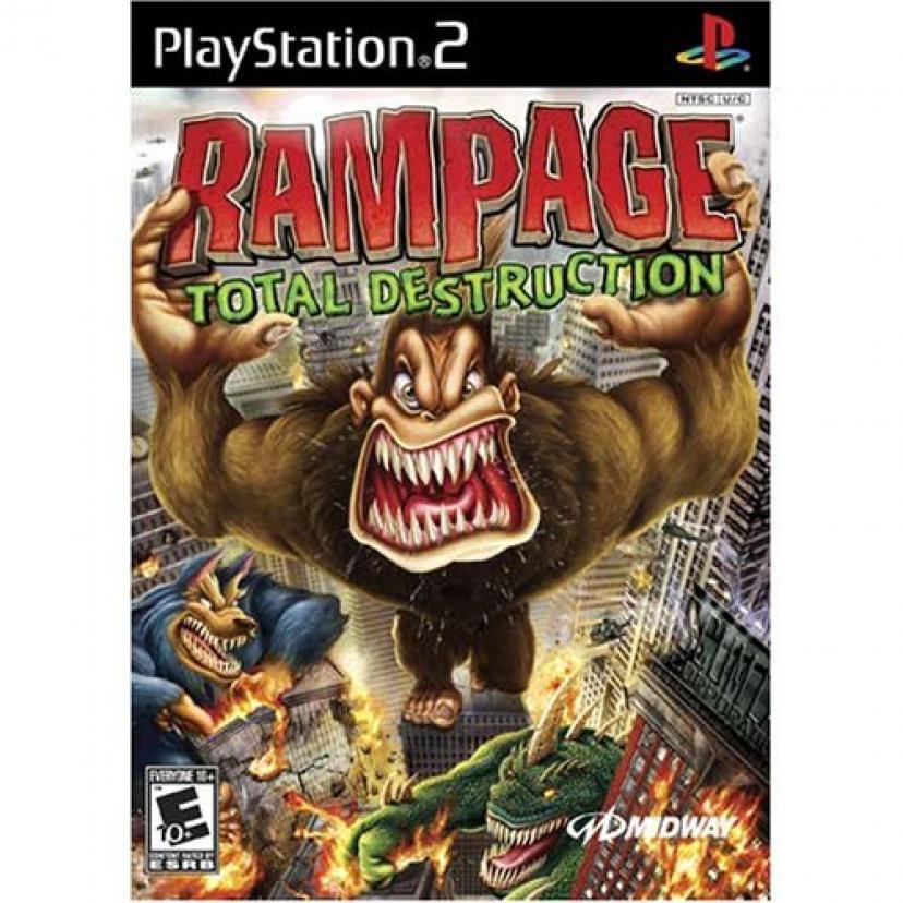 Rampage Total Destruction - PlayStation 2