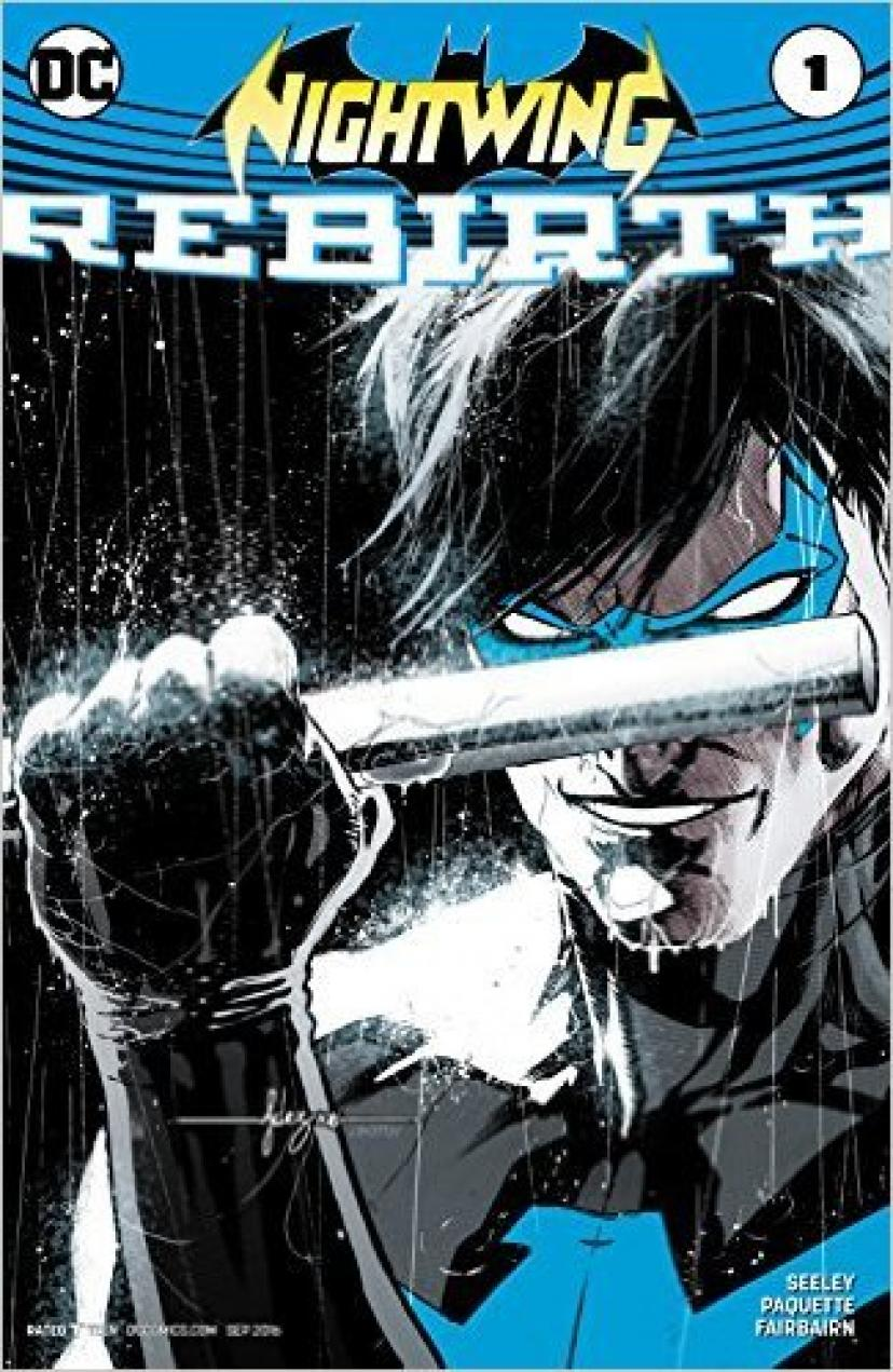 Nightwing Rebirth #1 Comic Book