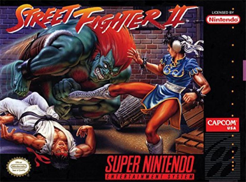 「ストリートファイターII -The World Warrior-」