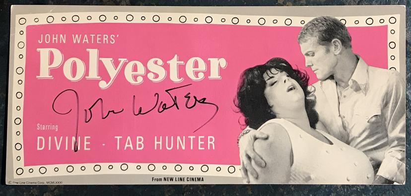 Scratch-and-sniff ''Odorama'' card for John Waters' film Polyester.