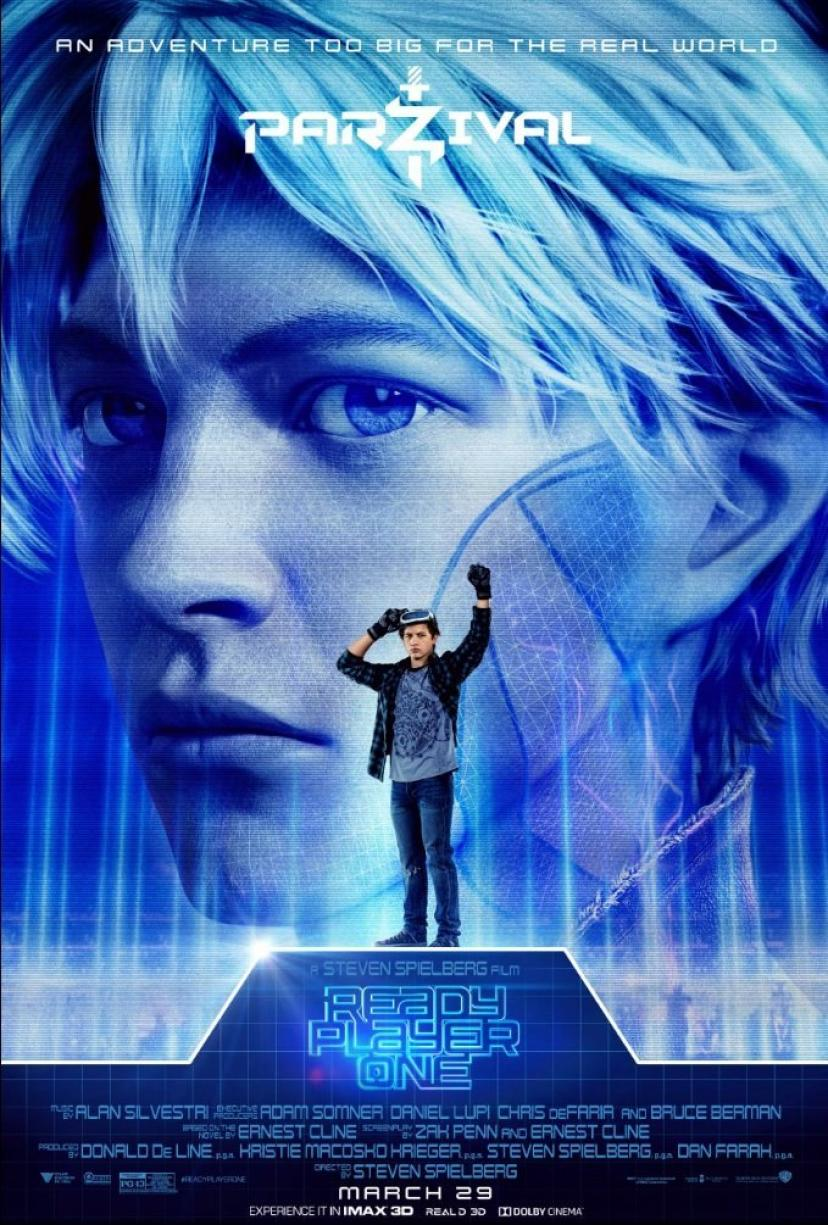 レディプレイヤー1 READY PLAYER ONE US版