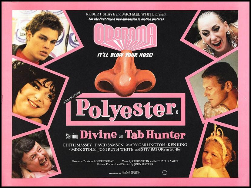 Polyester Fridge Magnet 2.5 x 3.5 John Waters Movie Poster Magnetic Canvas Print