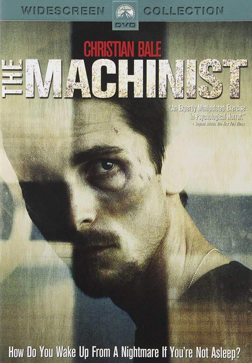 マシニスト DVD