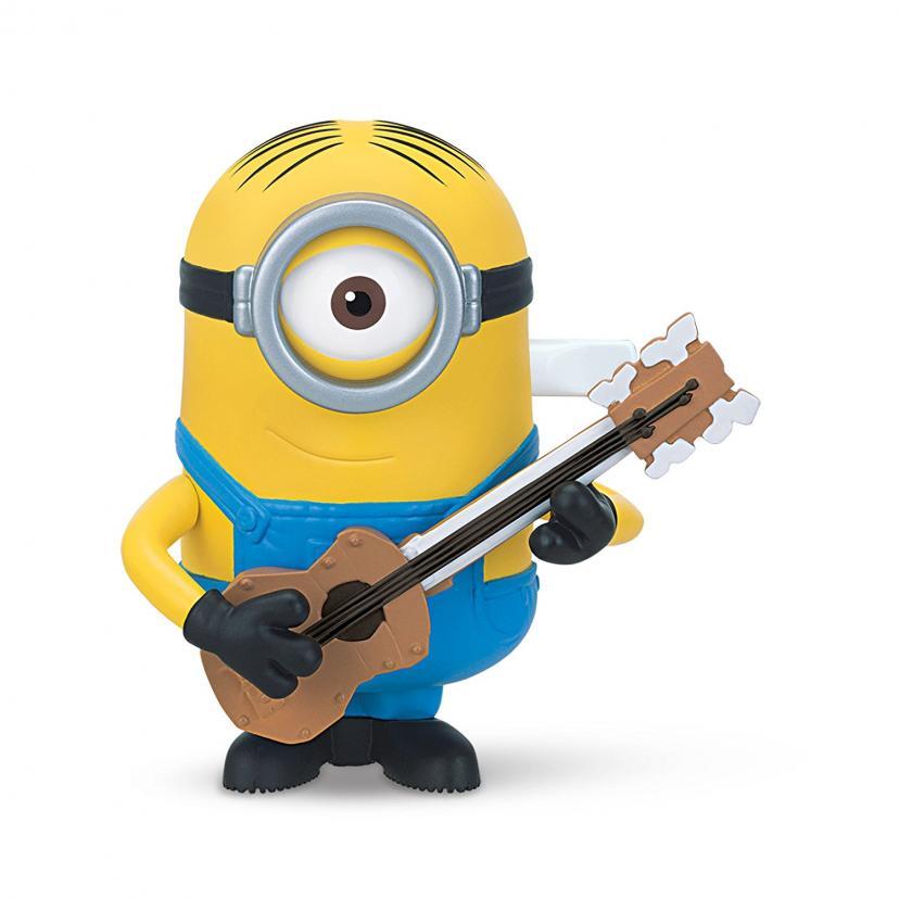 ミニオンズ ワインドアップフィギュア ギター ストラミング ミニオン スチュアート / MINIONS 2015 WIND-UP GUITAR STRUMMING MINION STUART【並行輸入品】怪盗グルー