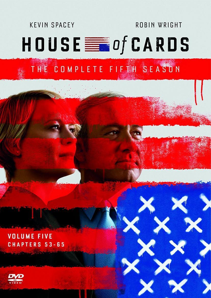 ハウス・オブ・カード 野望の階段 SEASON5 DVD Complete Package