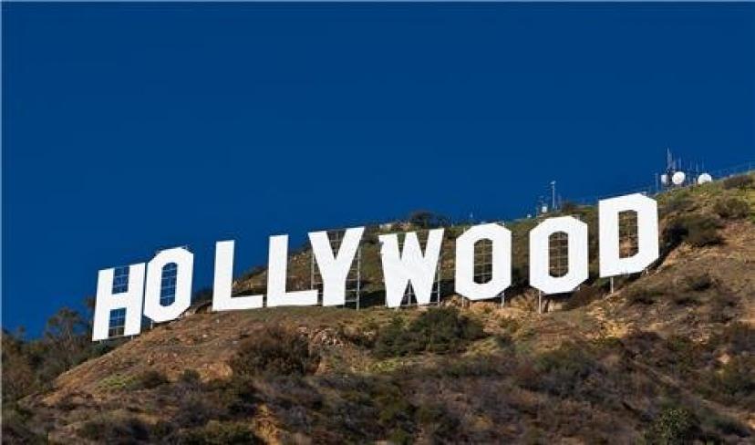 ハリウッドサイン グロっシーポスター