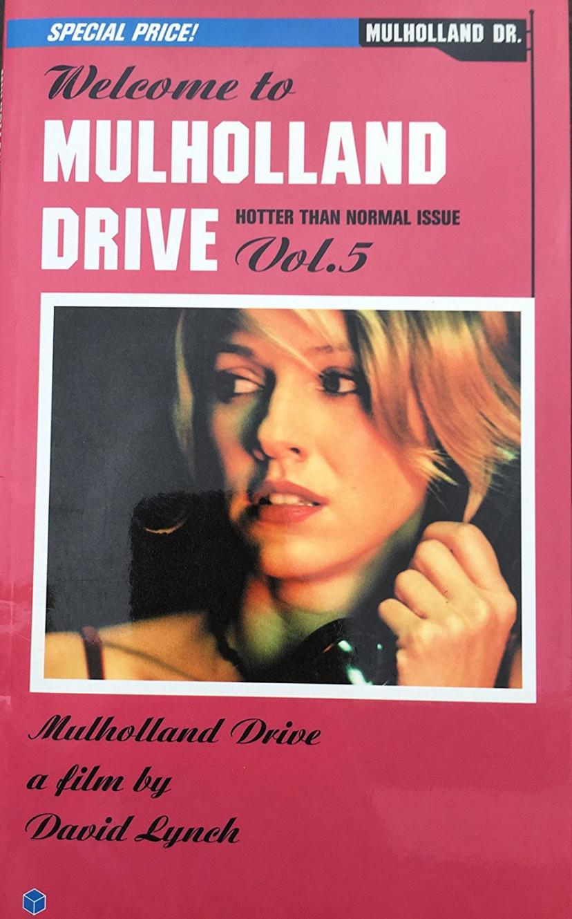 マルホランド・ドライブ 2002年初版パンフレット