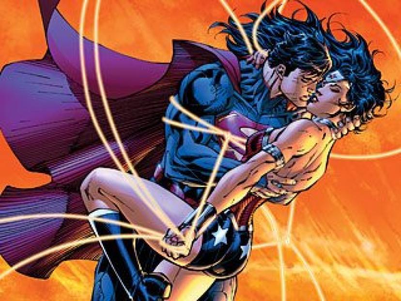スーパーマンとワンダーウーマン