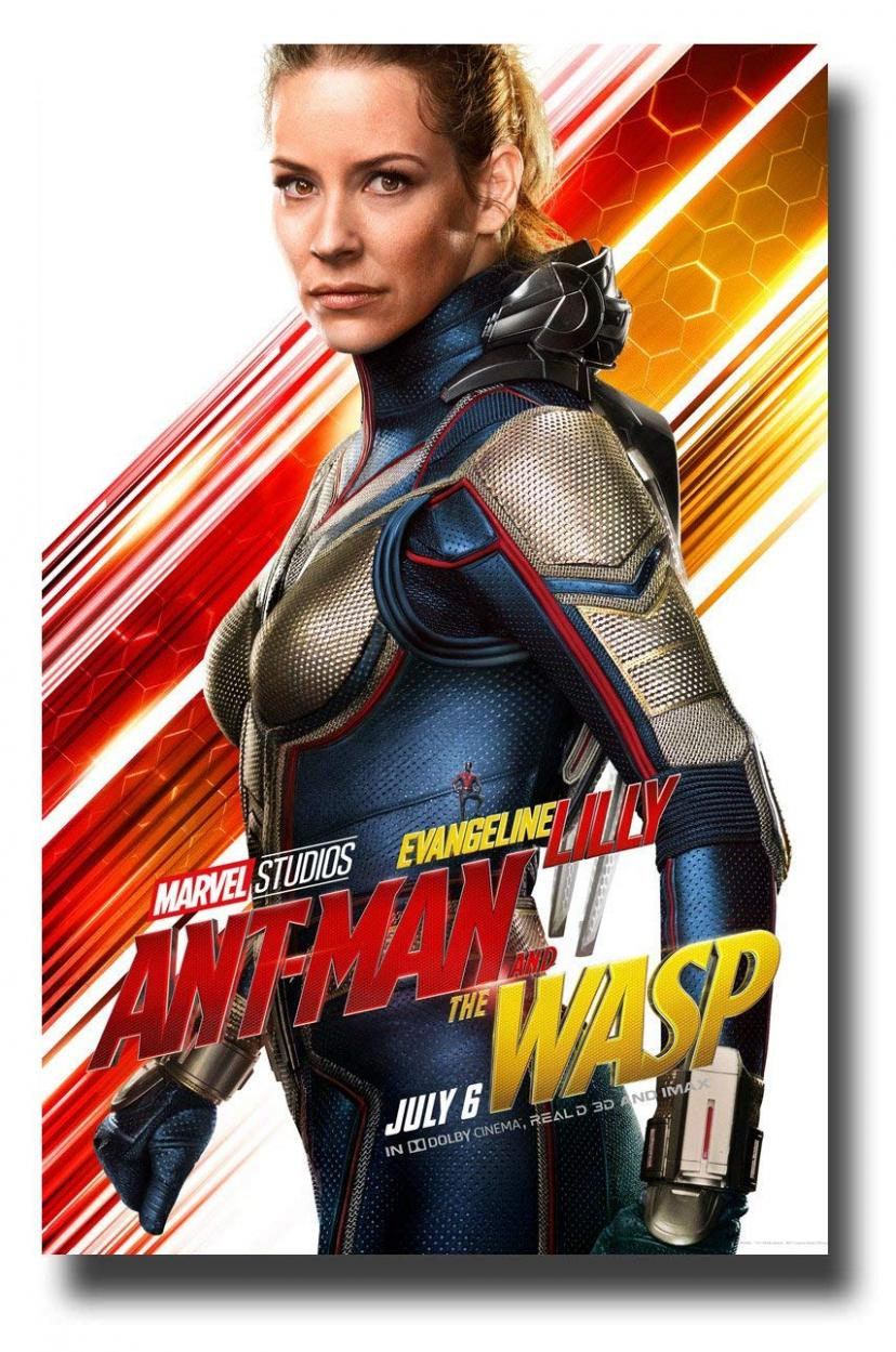 Ant-Man and The Wasp Poster Movie Promo 11 x 17 inches AntMan Evangeline Lilly