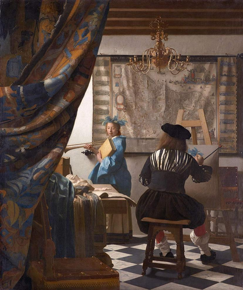 絵画芸術 ヨハネス・フェルメール