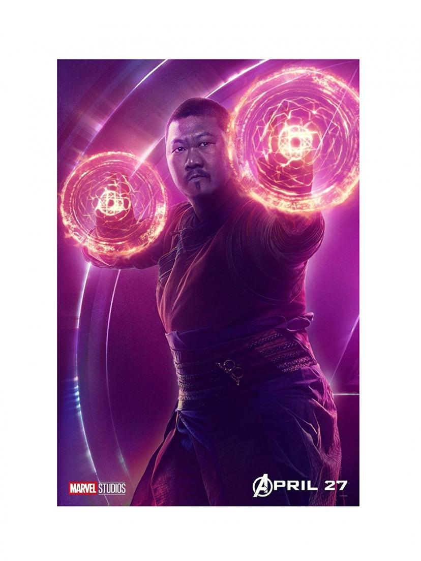 "Avengers Infinity War Movie 13x20"" 27x40"" 32x48"" Characters Film Print (Wong, 36""x24"" (90x60cm))"