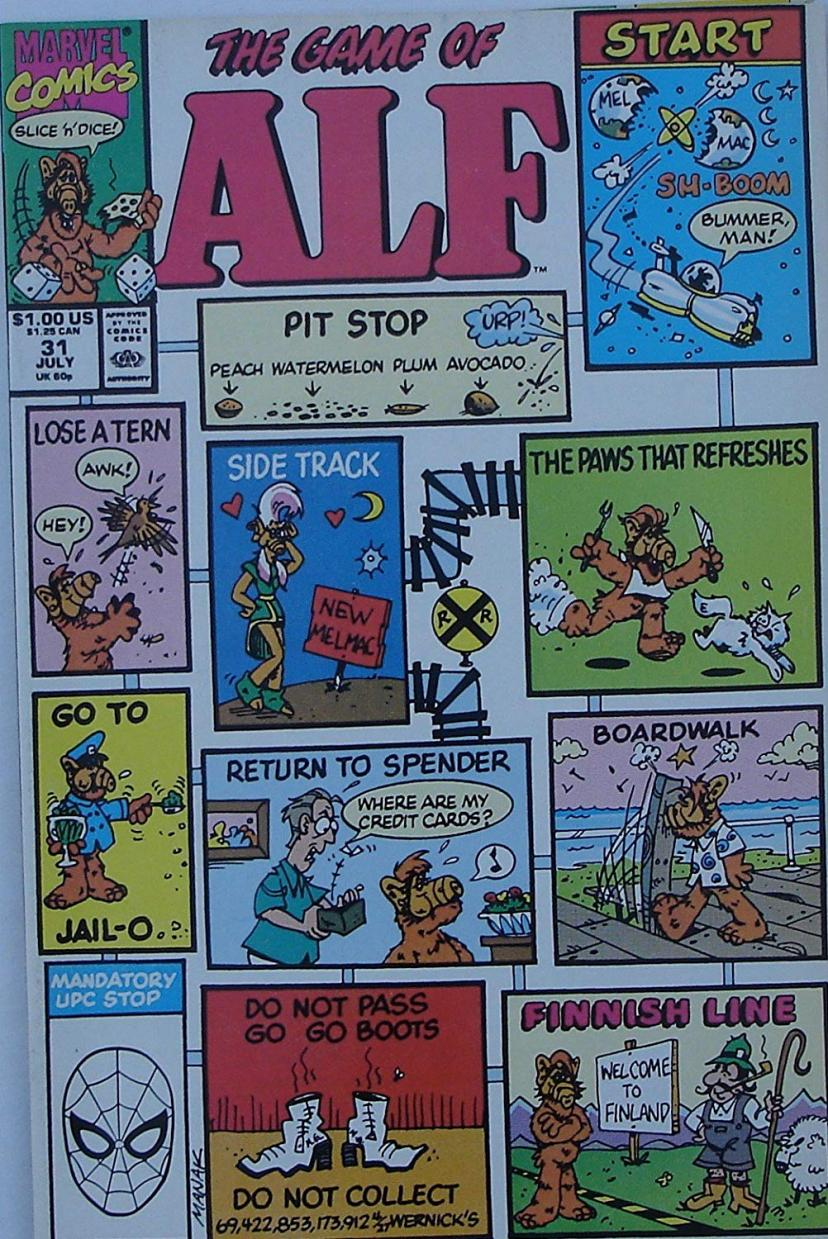 The Game Of Alf Comic Book #31 アルフ