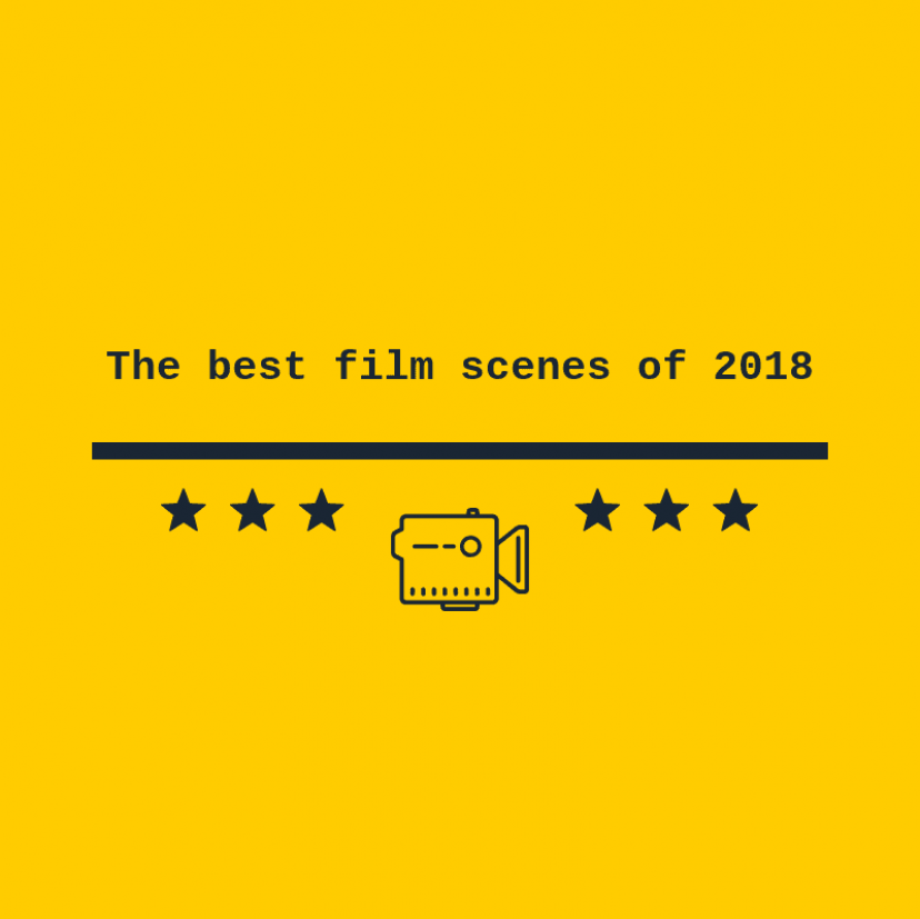 The best film scenes of 2018