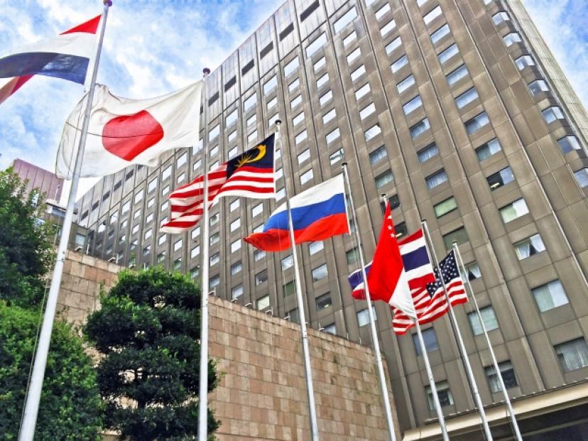 フリー画像、外交、旗、国旗、日本、外国