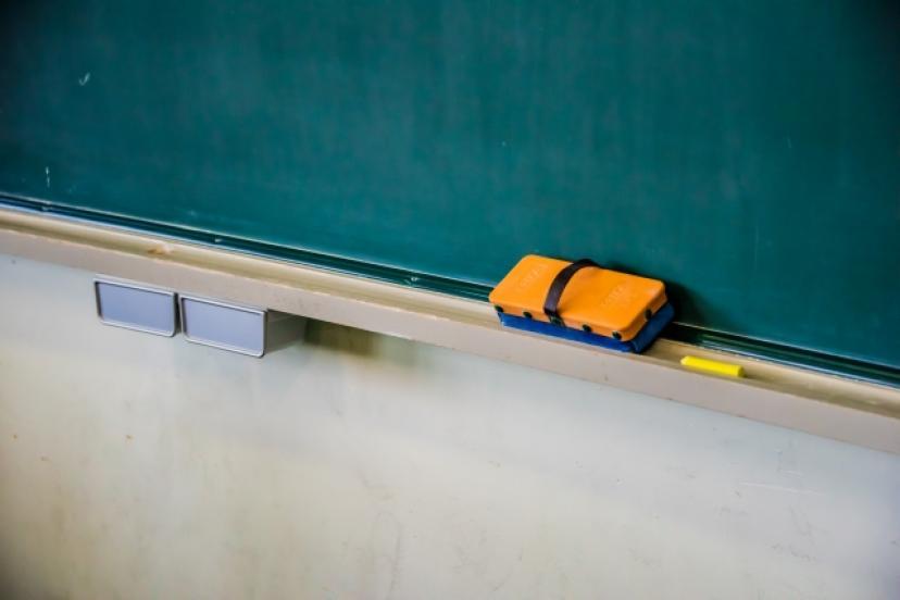 フリー画像、黒板、学校、学園、教室