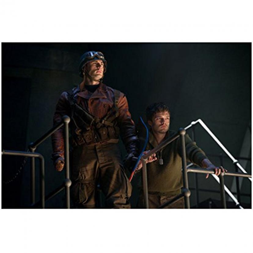 クリス・エヴァンス、セバスチャン・スタン『キャプテン・アメリカ ザ・ファースト・アベンジャー』
