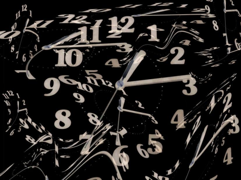歪み、時計、時間、宇宙、タイムスリップ、タイムトラベル、フリー画像