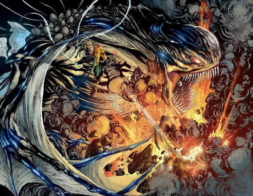 コミック『アクアマン #1』(2011) トレンチ
