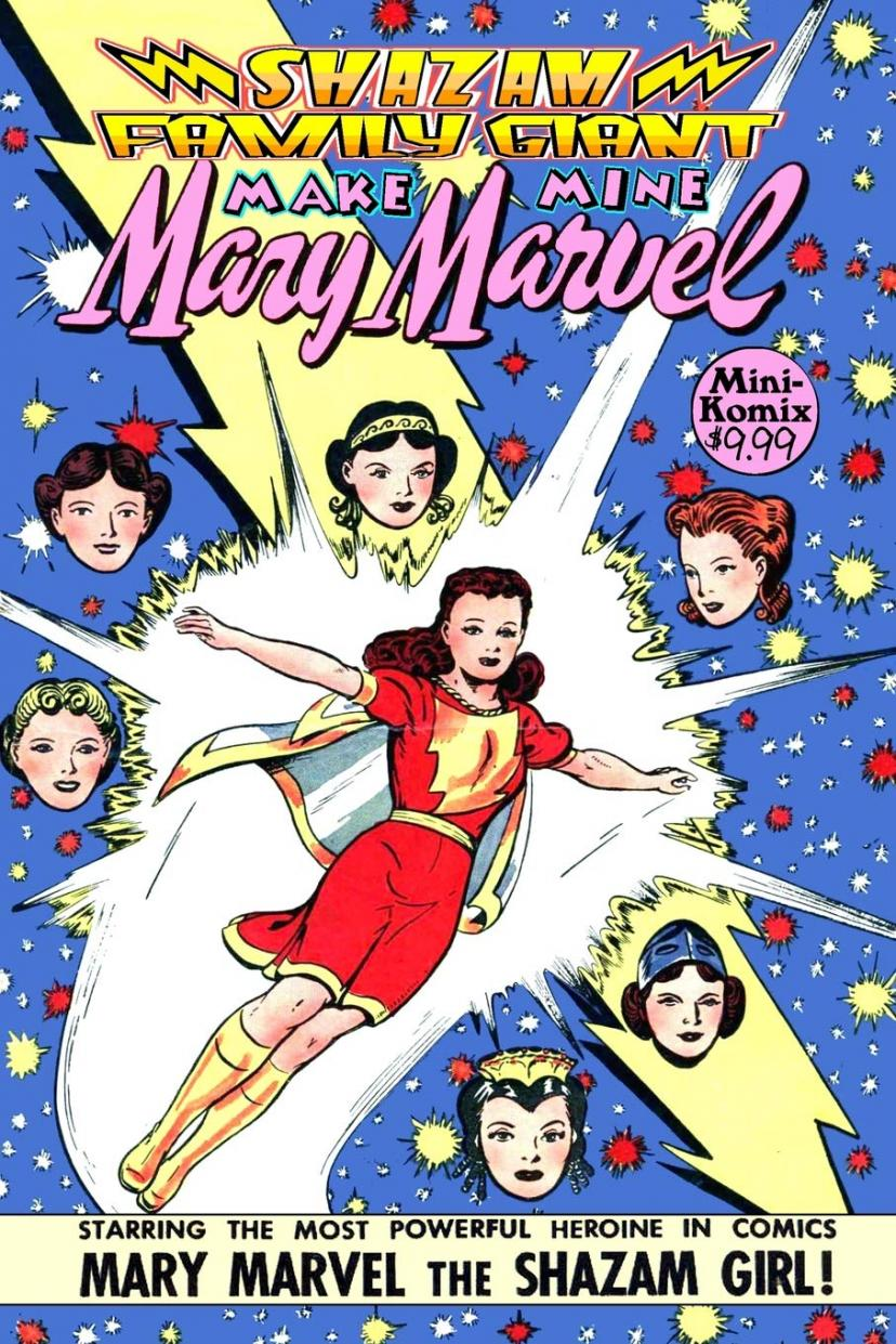 コミック『メアリー・マーベル』