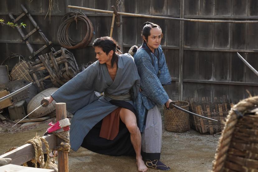 映画『多十郎殉愛記』(たじゅうろうじゅんあいき)_高良健吾(左)_木村了(右)