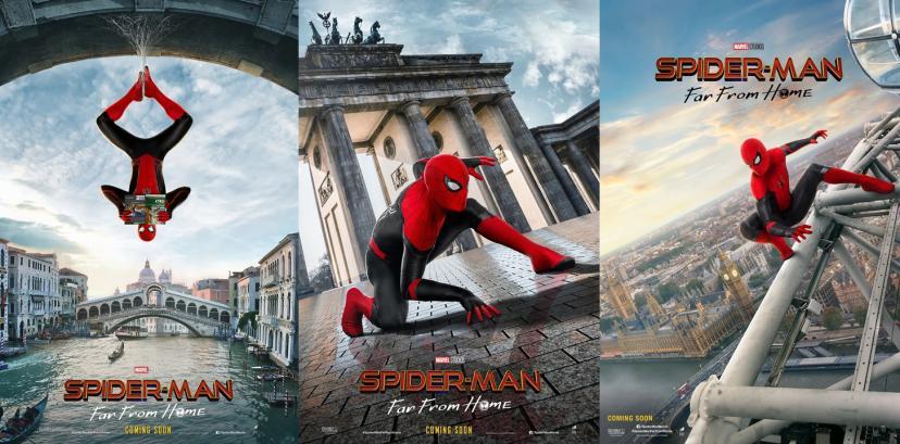 スパイダーマン:ファー・フロム・ホーム ポスター