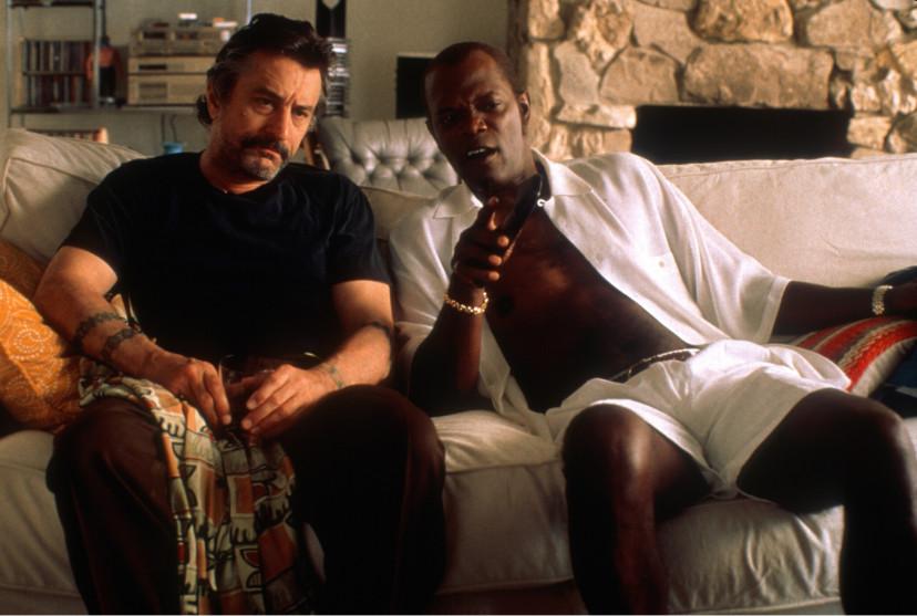 ロバート・デ・ニーロ、サミュエル・L・ジャクソン『ジャッキー・ブラウン』(1997)