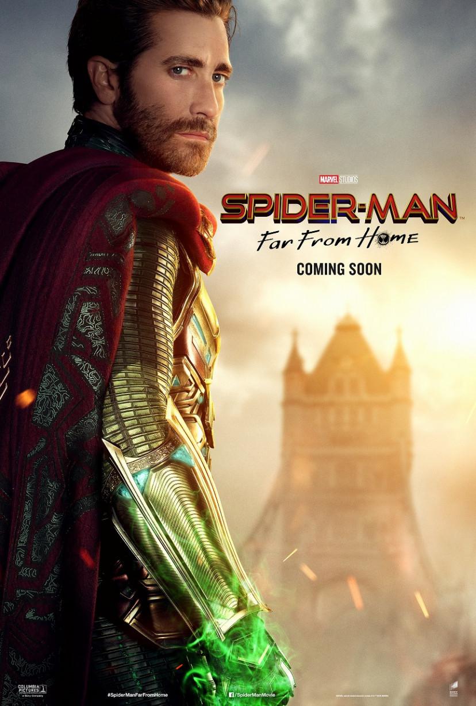 ジェイク・ギレンホール『スパイダーマン:ファー・フロム・ホーム』キャラクターポスター(サブ)
