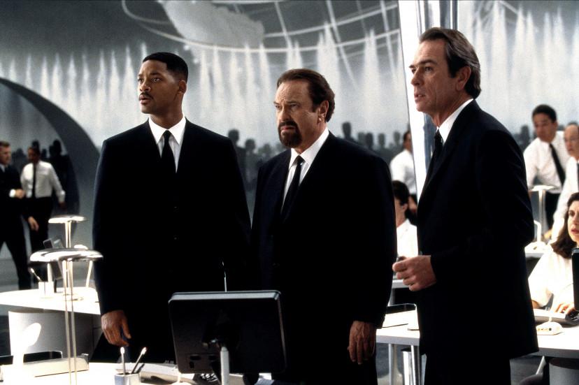 ウィル・スミス、リップ・トーン、トミー・リー・ジョーンズ『メン・イン・ブラック』