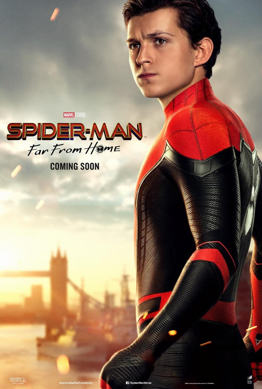 トム・ホランド『スパイダーマン:ファー・フロム・ホーム』キャラクターポスター(メイン)
