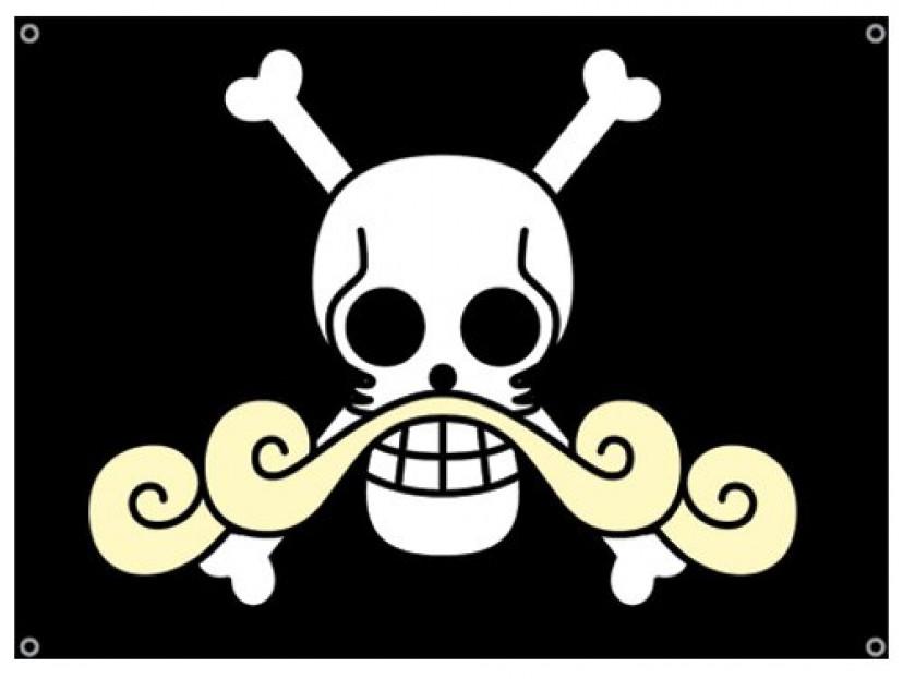 ONE PIECE ワンピース ゴールドロジャーの旗
