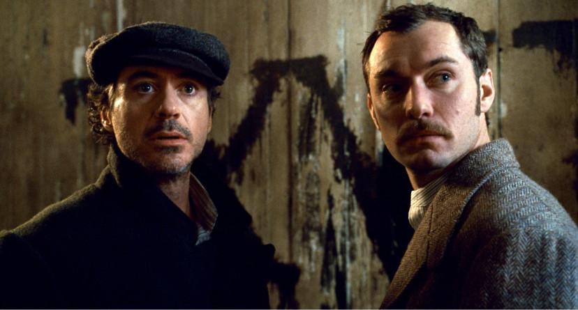 『シャーロック・ホームズ』(2009)ロバート・ダウニー・Jr. ジュード・ロウ