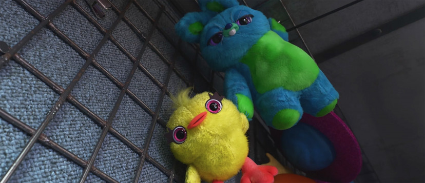 ダッキー&バニー『トイ・ストーリー4』