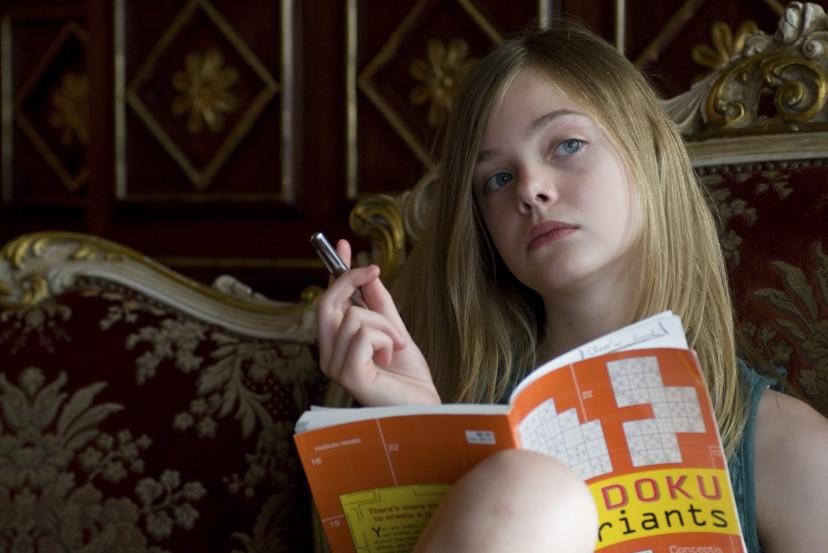 『SOMEWHERE』(2010)エル・ファニング